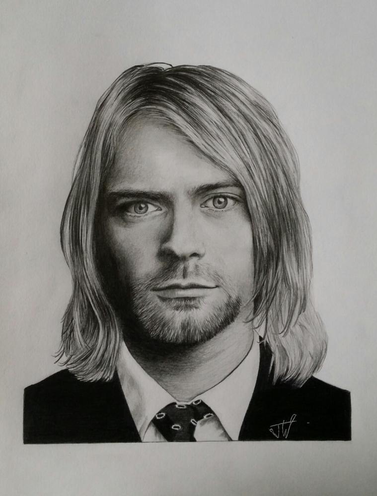 Kurt Cobain by jeffcw
